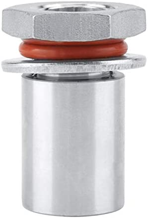 Bulkhead roestvrij staal12 roestvrij staal Homebrew Lasloze Bulkhead montage voor waterkoker vat