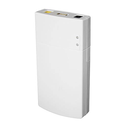 PKA GM322 Mini UPS Power Schutz Ladegerät 7800 MAH DC Power Bank Portable Power Für 12 V 2A Anwendungen Schutz Weiß