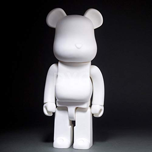 MMZ Bearbrick!Pure White DIY Graffiti Modell Action-Figur Figurine/Hauptdekoration Schlafzimmer Kunst berühmte Cartoon-Charakter Original-Companion Modell von Bearbrick Series 28cm
