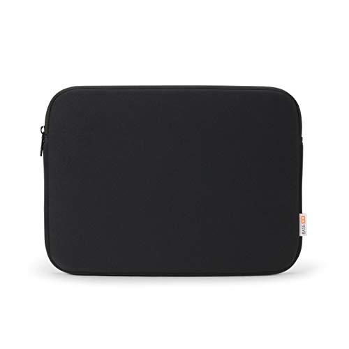 Base xx Laptop Sleeve 12 Zoll - 12.5 Zoll Notebookhülle - Notebooktasche mit Metallreißverschluß, stoßfeste Polsterung, Jersey Stoff, schwarz