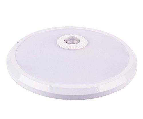 TEVEA LED Sensorleuchte - Bewegungsmelder - Deckenleuchte (Warmweiss)