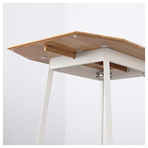Ikea PS 2012 / Teodores, mesa y 2 sillas, bambú blanco, resistente y fácil de cuidar. Comedor hasta 2 asientos. Juegos de comedor. Mesas y escritorios. Muebles. Respetuoso con el medio ambiente.