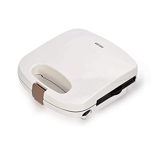 Sdesign Mini Waffle Faker, Note ELÉCTRICO DE Gaffle DE Gaffle PLACATAS Desayuno para EL Desayuno para Hora para GALLOS, PANTALIZADORES PUTATA, MULTION FUNTRAFORIA (Color: Blanco)