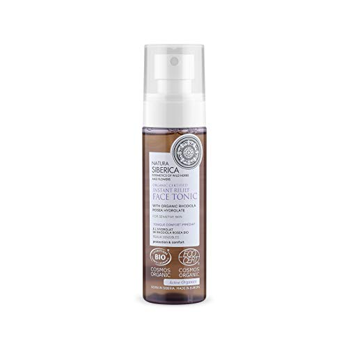 Natura Siberica Organic Certified Instant Relief Face Tonic For Sensitive Skin, 100 ml