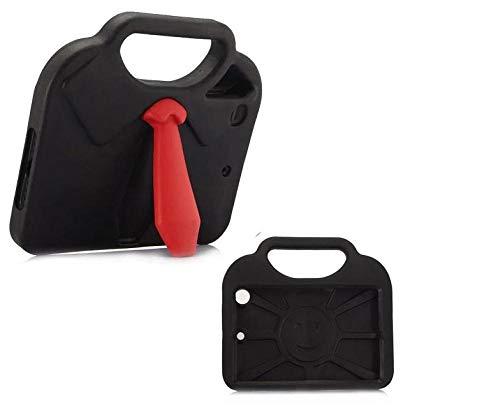 Hülle für iPad Mini 1/2/3/4 3D-Krawatten-Design Eva-Schaum Stoßdichter Handstand Kinder-Tablet-Hülle für iPad mini4-Schwarz