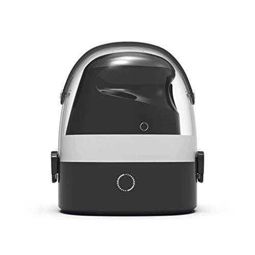 FSJD Máquina de Planchar de Mano para Colgar en casa Plancha de Vapor eléctrica Nano Vapor pequeña máquina de Planchar portátil esterilización húmeda, Negro