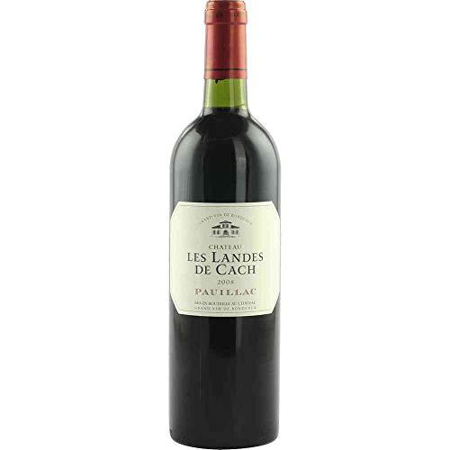 Château Les Landes de Cach 2008 Pauillac AC Rotwein trocken Vignoble Henri Musso Frankreich 750ml-Fl (37.07€/L)