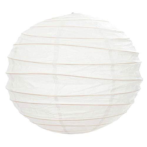 EUTOPICA Pack 10 Lámparas de Papel (60 cm asimétricas)