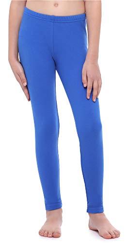 Merry Style Leggings Mallas Largas Niña MS10-252 (Cobalto, 128 cm)
