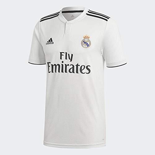 adidas Real H JSY Y Camiseta, Niños, Multicolor (Blabas/Negro), 176