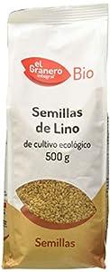 Granero Semillas de lino de cultivo ecológico - 500 gr