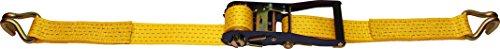 mamutec Zurrgurt zweiteilig mit Ratsche und Spitzhaken 5000 daN, 8 m, 50 mm, 100550080032