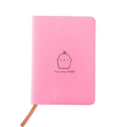Blocs y Cuadernos de Notas Aux Leather Planificador semanal mensual Agenda Organizador Diario Diario Cuaderno Papelería Regalo Blocs y Cuadernos de Notas (Color : C)