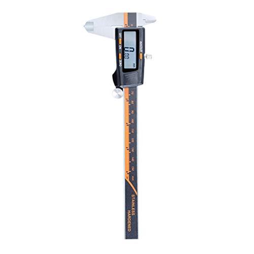Almencla Calibrador Digital Con Gran Pantalla LCD Y Conversión De Pulgadas A Milímetros