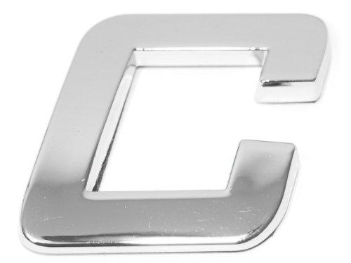 Eufab 30313 3d-letter C Car-logo