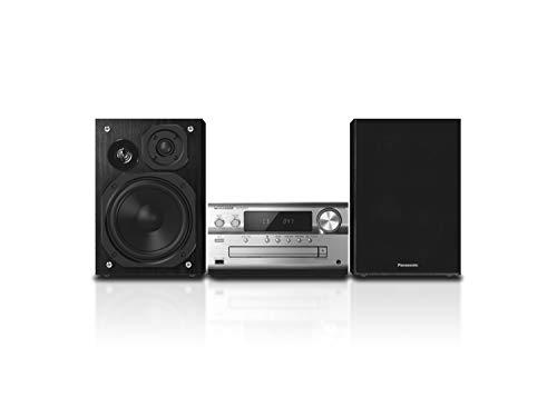 Panasonic Sc-Pmx92Eg-S Sistema Hi-Fi Stereo, Audio High-Res, Cd, Bluetooth, Fm Radio, Dab+, Aux-In Autoplay, USB Dac, Lincsd-Amp, Speaker a 3 Vie, Alta Qualità Audio, Silver, Taglia Unica