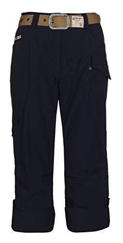 G.I.G.A DX Helana Pantalon Femme, Bleu Marine, FR : L (Taille Fabricant : 42)