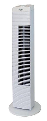 TEKNOS タワー扇風機 タワーファン メカ式 ホワイト TF-820-W