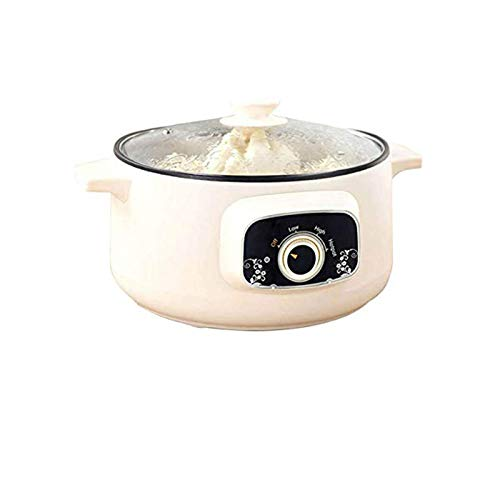 110V Electric Skillet, Multi-Functional Rice Cooker Food Steamer Nonstick Personal Hot Pot with Lid...