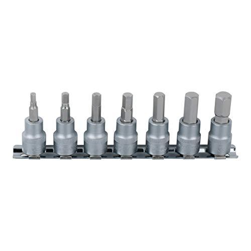 Preisvergleich Produktbild KS Tools 911.1544 1 / 10, 2 cm Bit Stecknuss Satz,  7