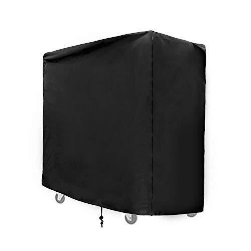 SIRUITON Kühlwagen Abdeckung Oxford Polyester Wasserdicht Draussen Schutzhülle für Kühlwagen schwarz-36 Monate Garantie 95x 92x 50cm
