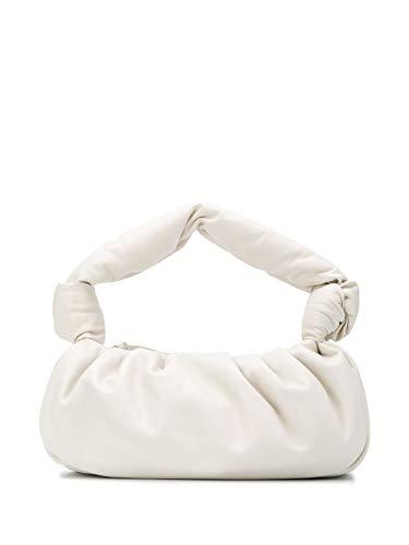 Miu Miu Luxury Fashion Damen 5BC064VOOM2C9OF0009 Weiss Leder Schultertasche | Frühling Sommer 20