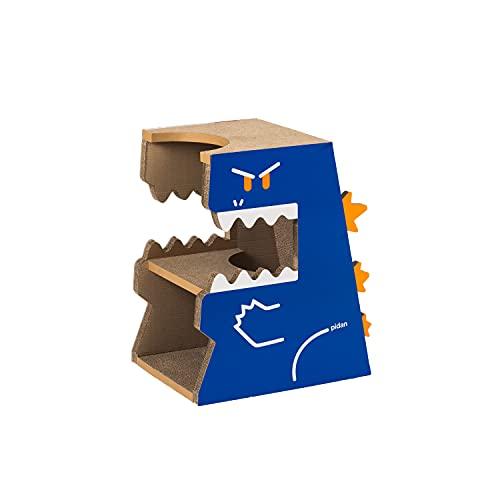 pidan 猫爪とぎ ダンボール おもちゃ 猫つめとぎ 段ボール キャットハウス キャットタワー 高密度 耐久 (怪獣さん)