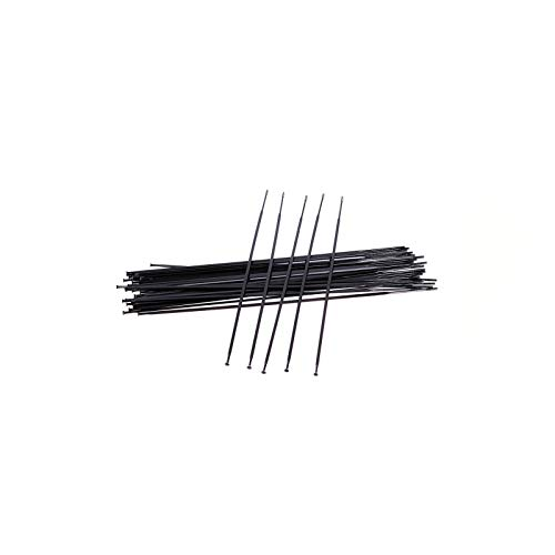 Bicycle spokes with nipples 12PCS MTB Road Bike Straight Pull Aero Spokes for M-a-v-i-c A-K-S-I-U-M K-s-y-r-i-u-m E-q-u-i-pe C-R-O-S-S-R-I-D-E C-o-s-m-i-c (Color : 292mm)
