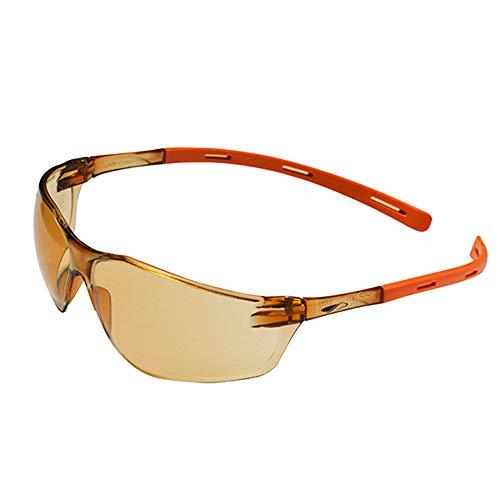 JSP 1RIGBB21LO Rigi KN UV400 Blue Blocker 60%, lenti arancioni chiare, rivestimento AS/AF, confezione da 10