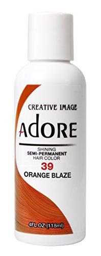 Adore Glänzende semi-permanente Haarfarbe, 39 Orange Blaze