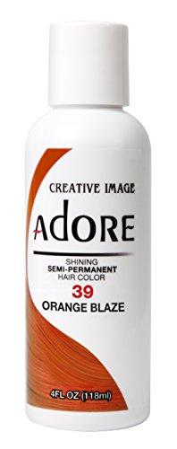 neon orange permanent hair dye - 8