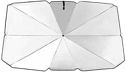 Parasol Parasol de Coche LJQJYFCAdecuado para Seat Leon 5F Mk3 2013-2019 Ibiza 6J 2016-2019 Arona 2018-125x65cm