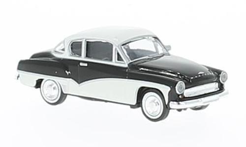 Wartburg Brekina H0 311 Coupe Schwarz-Weiss