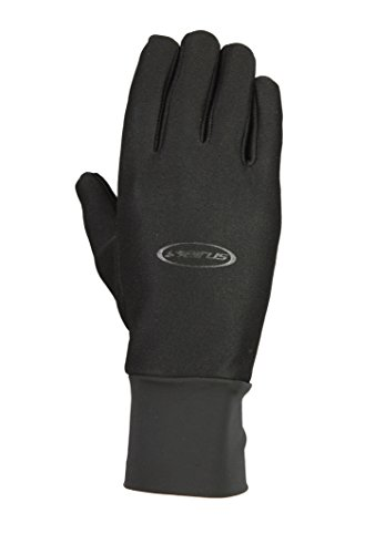 Seirus Innovation Men's Hyperlite All Weather Polartec Glove with Sound Touch Technology, Black, Small/Medium
