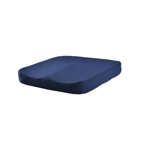 Yuzhijie Verano coche lento rebote salón cojín silla asiento culo estera acceso oficina cuadrado pad estudiante mat azul marino