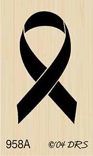 Mini Remembrance Ribbon Rubber Stamp By DRS Designs