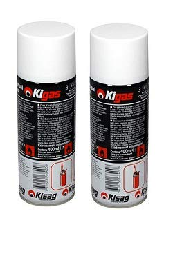 Kisag/Rösle 91275 Gaskartusche für Gasbrenner 2 Stück