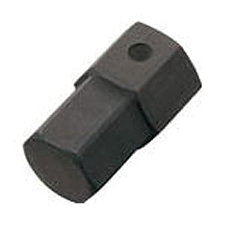チャネルセッション対トネ(TONE) インパクト用ヘキサゴンビット(差替式) 差込角ビット差込21mm BIT21-22 二面幅22mm