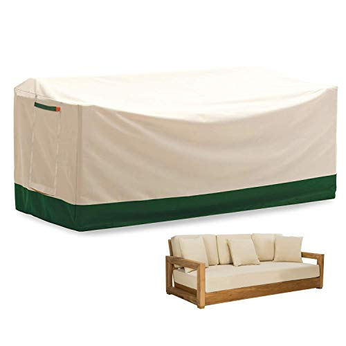 Umbrauto Outdoor Sofa Cover Heavy Duty Waterproof Fade Resistant Oversized Couch Cover Patio...