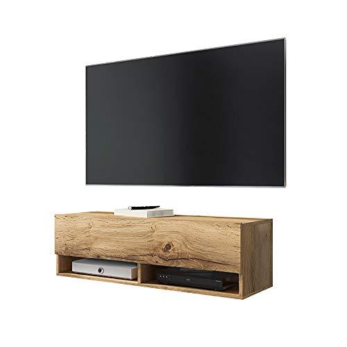 Selsey Mobile sospeso per TV, Rovere Wotan, 100 cm