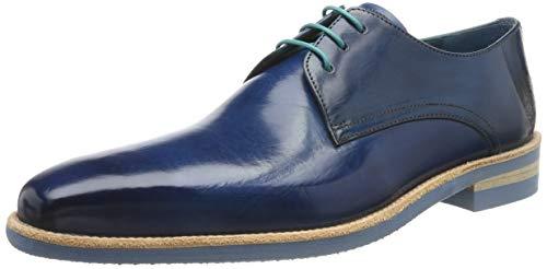 Melvin & Hamilton Herren Lance 24 Derbys, Blau (Bluette Crust-Bluette), 44 EU