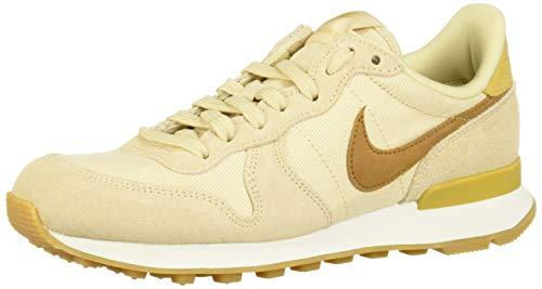 Nike Damen Internationalist Laufschuhe, Mehrfarbig (Beach/Wheat Gold/Summit White 209), 38.5 EU