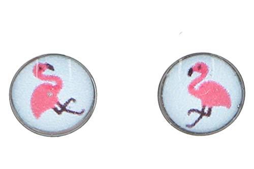 Studex Erstohrstecker Chirurgenstahl mit Flamingo