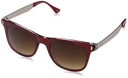 Vespa Unisex-Erwachsene wayfarer Eye Sonnenbrille, Rot (Rosso), 51