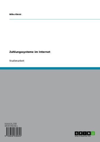 Zahlungssysteme im Internet