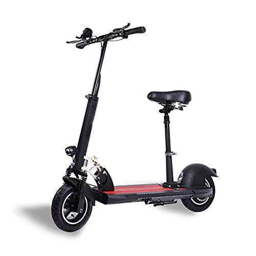 ABCD Scooters eléctricos, Scooters pequeños de Dos Ruedas, vehículos eléctricos Plegables, conducción portátil de Mini batería, Velocidad máxima 35-45km / h, Resistencia 30-120 km