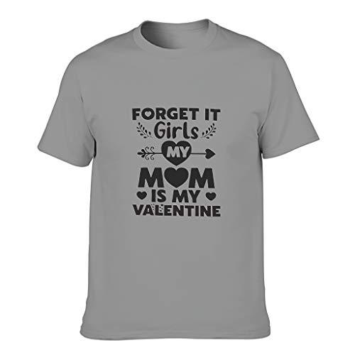 Camiseta de algodón para hombre con texto en inglés 'Sorry Girls' y texto en inglés 'My Mom is My Valentine'
