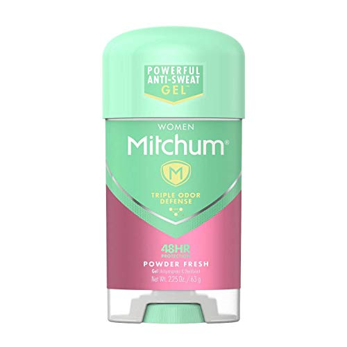 Mitchum for Women Power Gel Anti-Perspirant Deodorant Powder Fresh 2.25 oz (Pack of 2) - Packaging May Vary