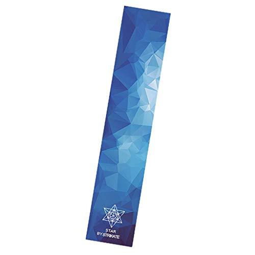 Hellery Protector de Cubierta de Papel de Lija Griptape Longboard Griptape Longboard - Espacio de Cinco Dimensiones, Talla única