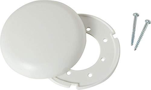 Format 4011150124962 – Deckenverteilerdose, weiß, flach (12494)